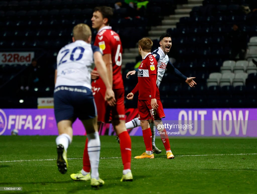 Preston North End v Middlesbrough - Sky Bet Championship : ニュース写真