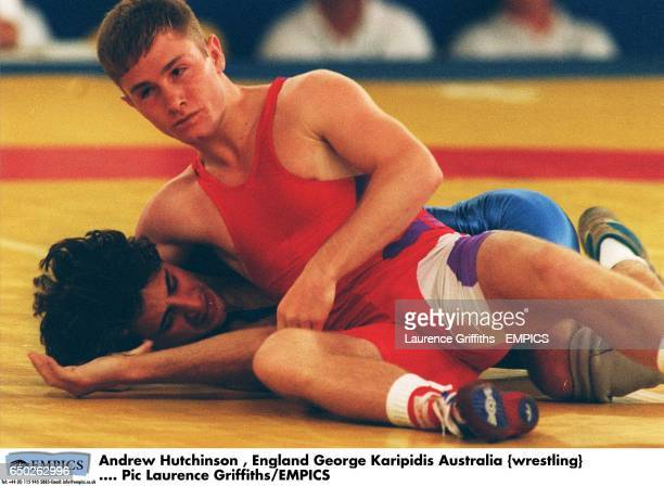 Andrew Hutchinson England George Karipidis Australia {wrestling}