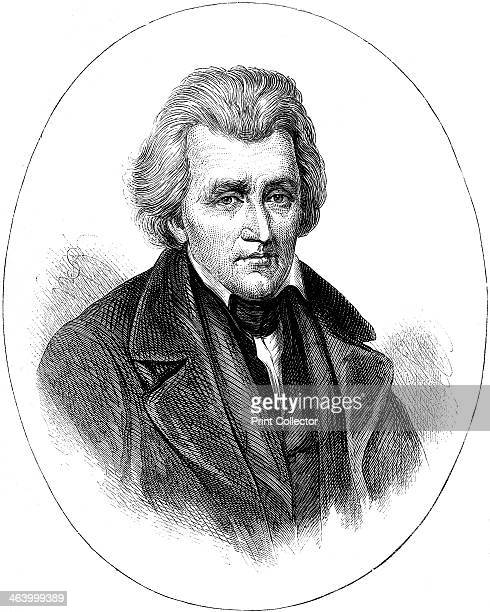 Andrew Jackson 7th President of the United States Jackson was president from 1829 until 1837 A print from Cassell's History of the United States by...
