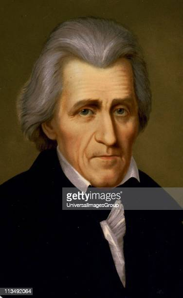 Andrew Jackson American soldier and Seventh President of the United States 18291837 Headandshoulders portrait