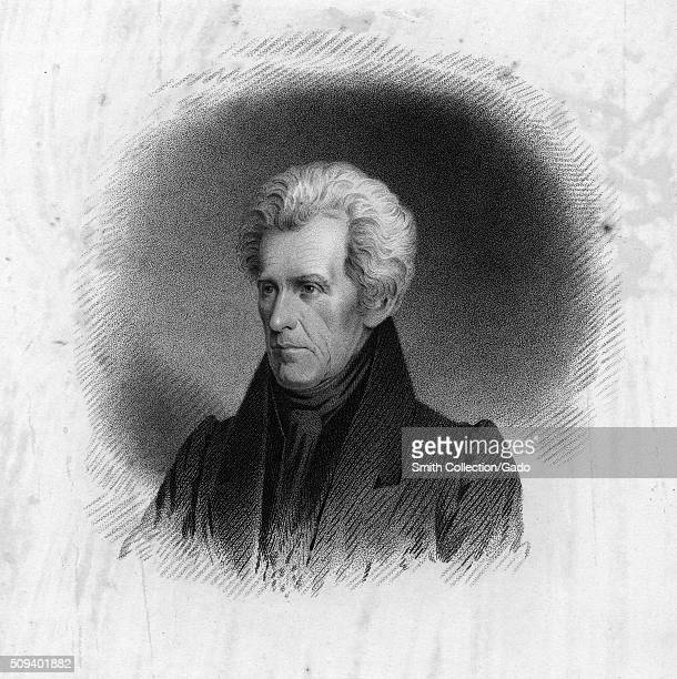 Andrew Jackson President of the United States 1843 From the New York Public Library