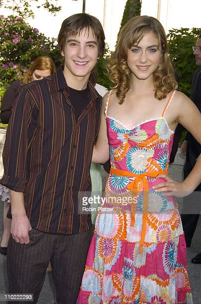 Andrew James Allen and Caitlin Wachs during 2005/2006 ABC UpFront at Lincoln Center in New York City New York United States