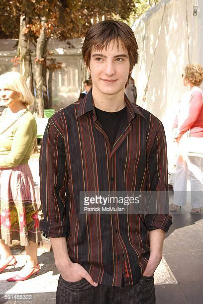 Andrew James Allen attends ABC 2005 Upfront Announcement Red Carpet Event at Lincoln Center Plaza on May 17 2005 in New York City