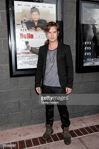 Andrew James Allen attends the 'Hello Herman' Los Angeles premiere at Laemmle NoHo 7 on June 7 2013 in North Hollywood California