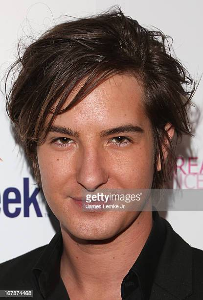 Andrew James Allen attends the Official Launch Party Of Stacey Jackson's Debut Album Benefiting Breast Cancer Charities of America held at the Bardot...