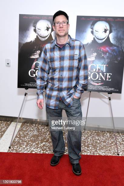 Andrew James Spaeth attends the premiere of Get Gone at Arena Cinelounge on January 24 2020 in Hollywood California