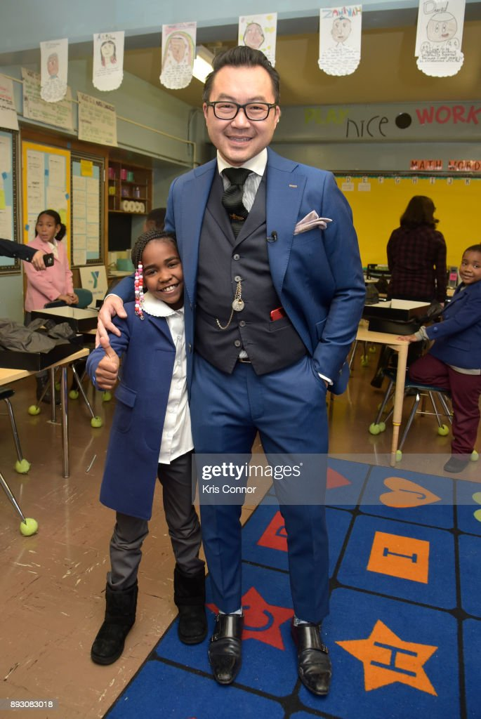 Adriaen Black 'Made To Measure, Made To Love' at P.S. 154 in The Bronx