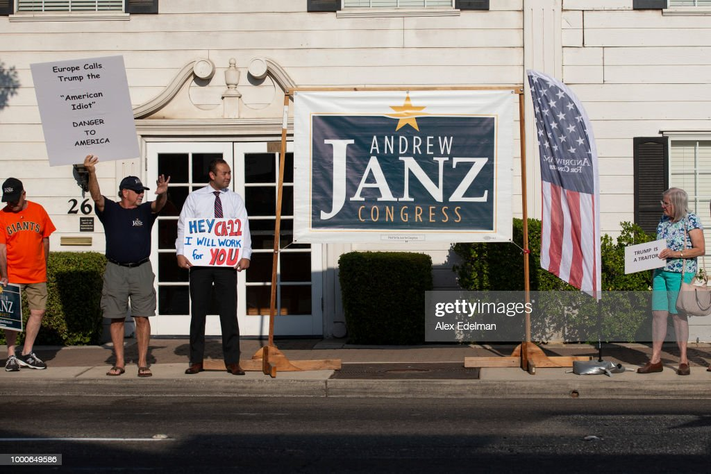 California House Candidate Andrew Janz Campaigns To Unseat Rep. Devin Nunes