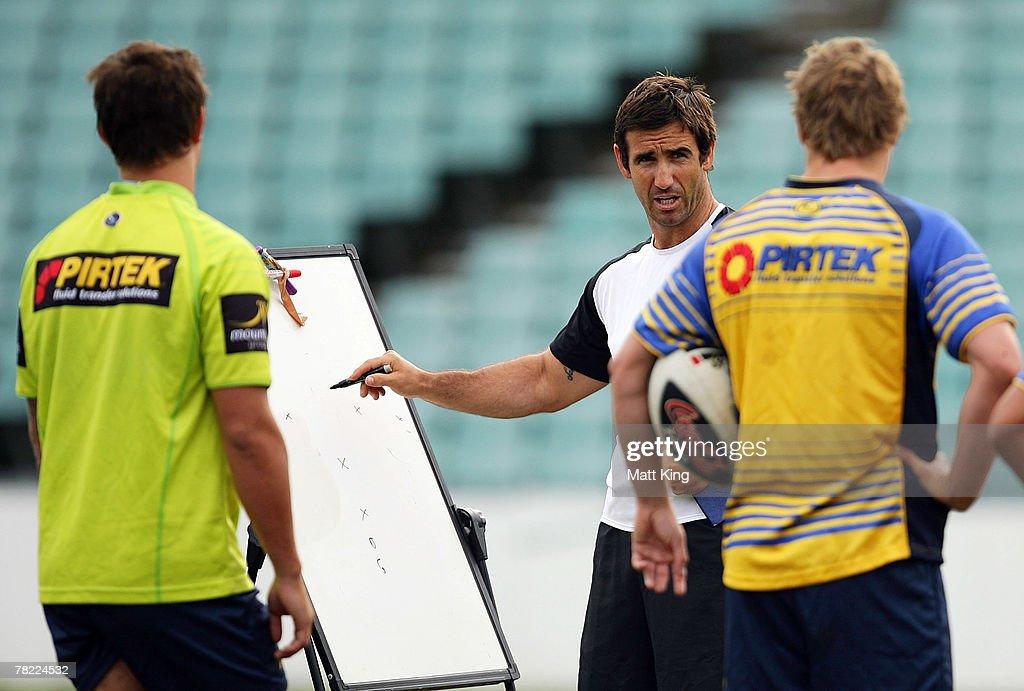 Andrew Johns Joins Parramatta Eels Coaching Staff : News Photo