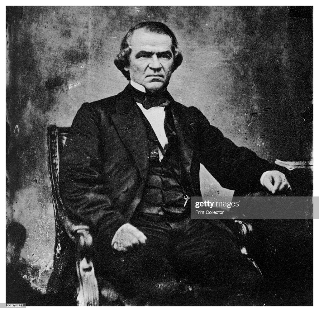 Andrew Johnson 17th President Of The United States 1860s