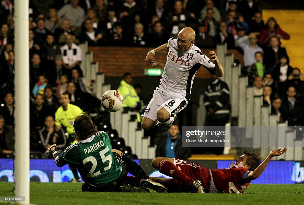 Fulham FC v Wisla Krakow - UEFA Europa League : News Photo