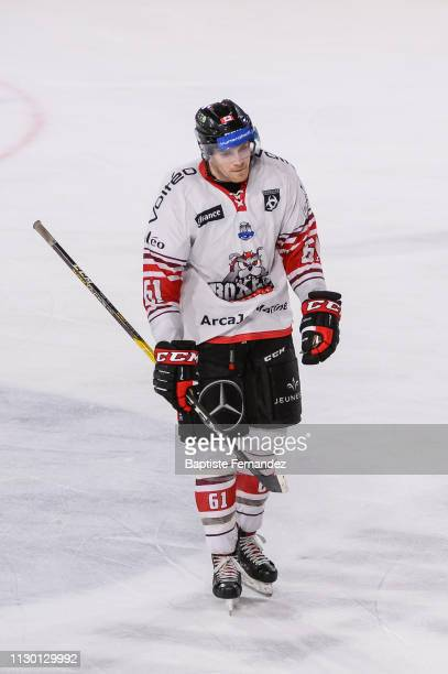 Andrew Johnston of Bordeaux looks dejected during the Quarter Final Magnus League match between Amiens and Bordeaux on March 12 2019 in Amiens France
