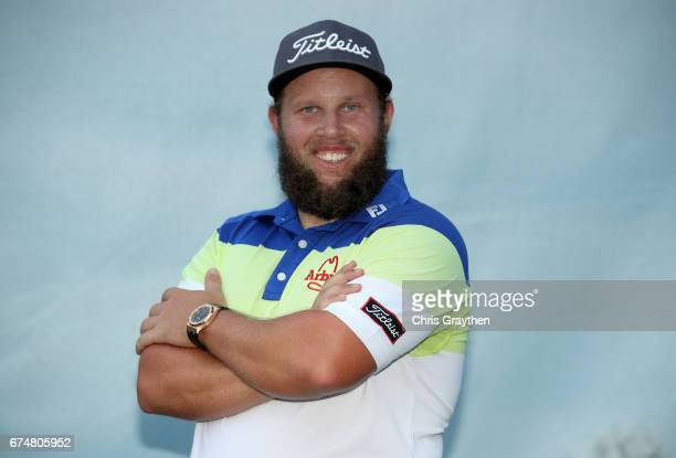 Andrew Johnston of England poses for a portrait after his round during the second round of the Zurich Classic at TPC Louisiana on April 28 2017 in...