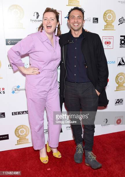 Andrew Kahn attends the 9th Annual Guild Of Music Supervisors Awards at The Theatre at Ace Hotel on February 13 2019 in Los Angeles California