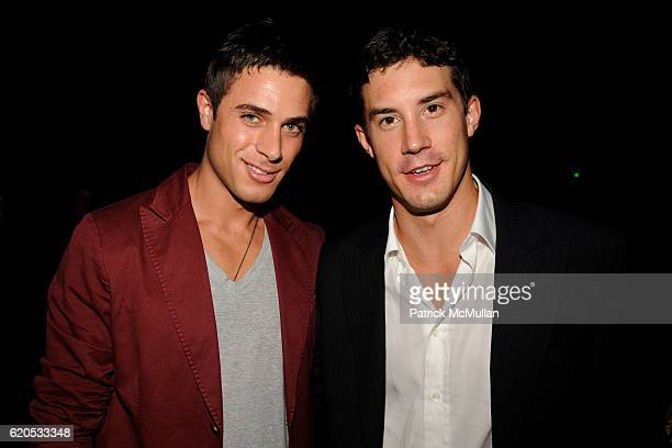 Andrew Kanakis and Eric Ternon attend MARC JACOBS Spring 2009 Collection at The Greenwich Hotel on September 8 2008 in New York City