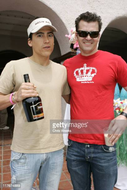 Andrew Keegan and guest during Silver Spoon Hollywood Buffet for Dogs and Babies Day 2 in Los Angeles California United States Photo by Chris...