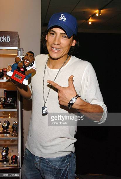 Andrew Keegan at Marc Ecko during Red Carpet '05 Oscar Suite Day Four at Pacific Design Center in West Hollywood California United States