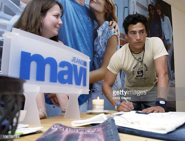 Andrew Keegan at Mavi Jeans during Sunset Marquis Oasis Hosts PreMTV Awards with SPIN Magazine Rock the Vote at Sunset Marquis Villas in West...