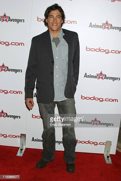Andrew Keegan during Bodogcom Host Charity Poker Tournament to Benefit Animal Avengers Pet Rescue at Private Residence in Beverly Hills CA United...