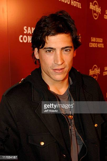 Andrew Keegan during Hard Rock CondoHotel San Diego Launch Arrivals at 615 Broadway in San Diego California United States