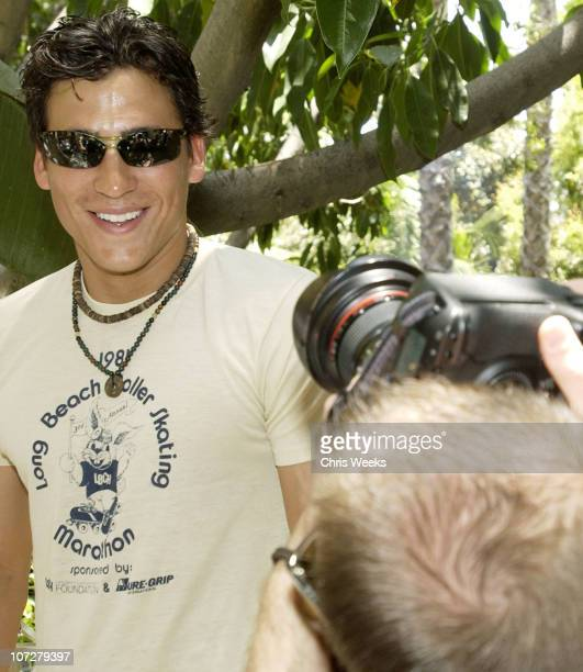 Andrew Keegan during Sunset Marquis Oasis Hosts PreMTV Awards with SPIN Magazine Rock the Vote at Sunset Marquis Villas in West Hollywood California...