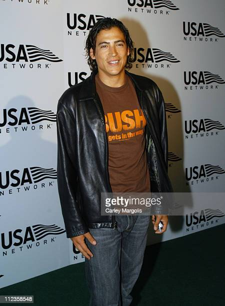 Andrew Keegan during USA Network Celebrates the Opening of the 2004 US Open at ACES Restaurant at Arthur Ashe Stadium in New York City New York...
