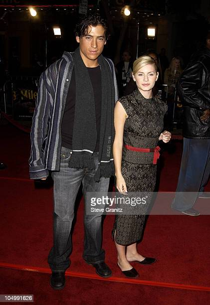 Andrew Keegan Elisha Cuthbert during '8 Mile' Westwood Premiere at Mann Village Theatre in Westwood California United States
