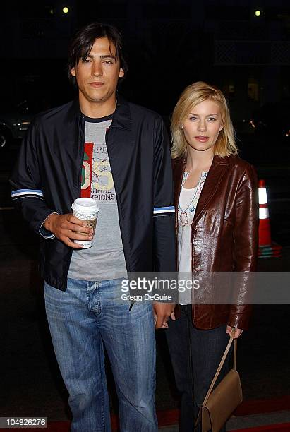"Andrew Keegan & Elisha Cuthbert during ""Frailty"" Premiere at Laemmle Santa Monica Theatre in Santa Monica, California, United States."
