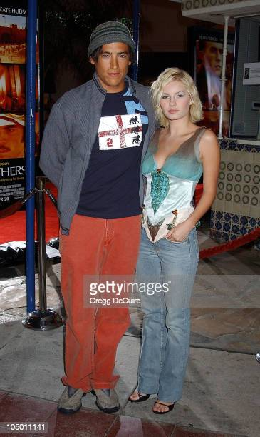 "Andrew Keegan & Elisha Cuthbert during ""The Four Feathers"" Premiere - Los Angeles at Mann Village Theatre in Westwood, California, United States."