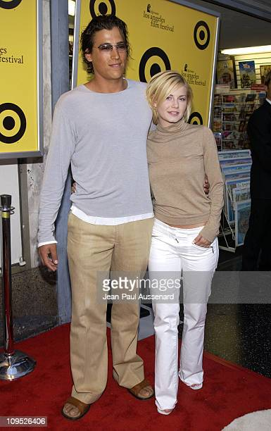 "Andrew Keegan & Elisha Cuthbert during ""The Good Girl"" Los Angeles Premiere & Closing Night Gala For The 2002 IFP/West at Pacific Theater in..."