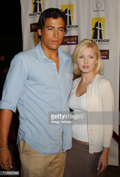 Andrew Keegan Elisha Cuthbert during 'The Ring' Premiere Opens The Hollywood Film Festival at The ArcLight Theatre in Hollywood California United...