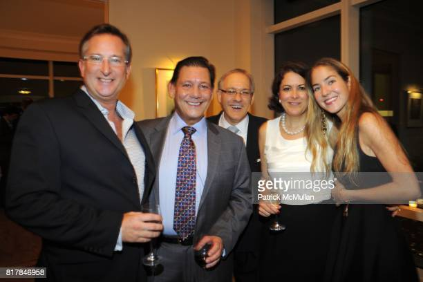 Andrew Kepler Carlos Picon Orlando Picon and Karina CorreaMaury attend Aid for AIDS Planning Party for the 2010 MY HERO GALA at Trump World Tower on...