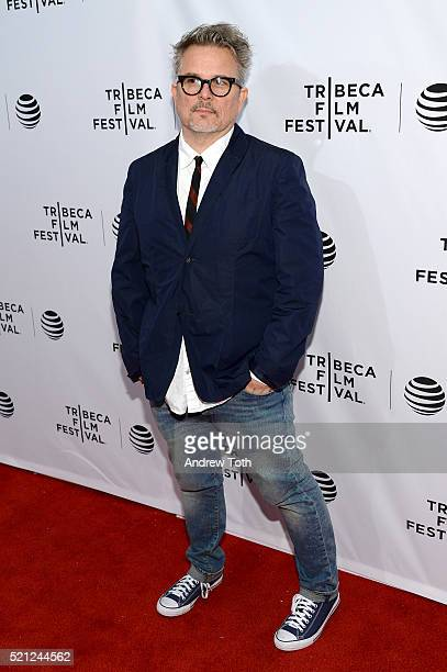 """Andrew Kevin Walker attends """"Nerdland"""" Premiere - 2016 Tribeca Film Festival at SVA Theatre on April 14, 2016 in New York City."""
