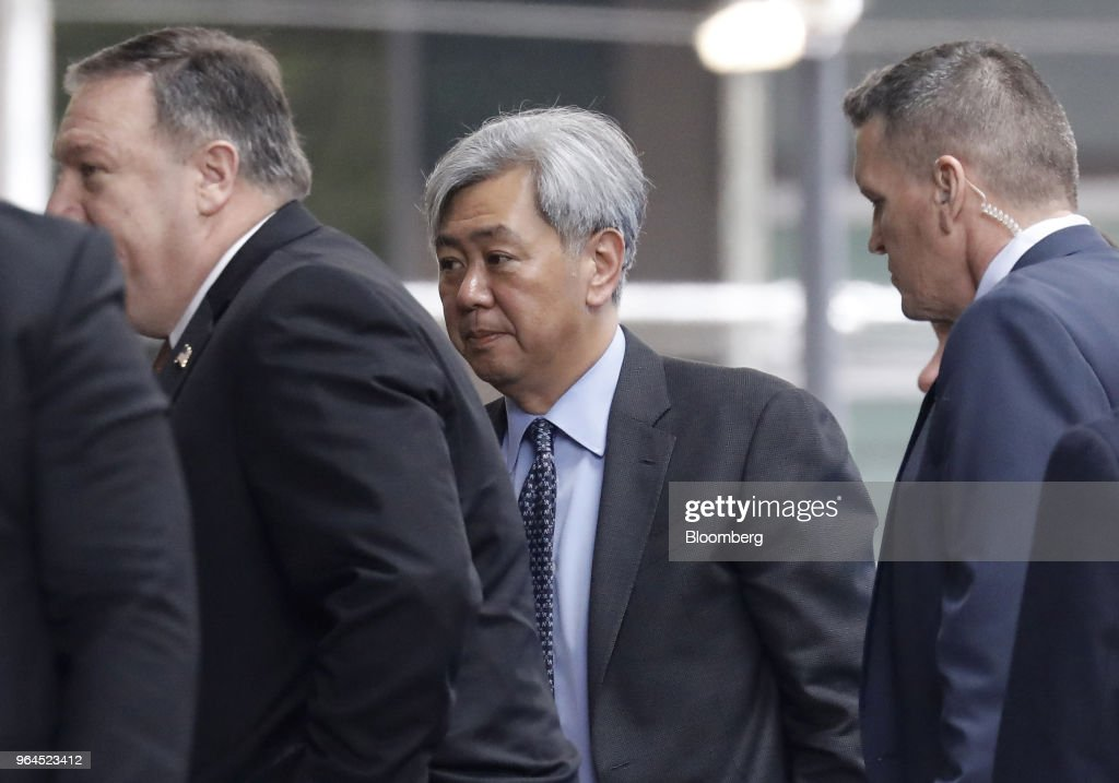 Top North Korean Adviser Kim Yong Chol Meets Pompeo In New York To Plan Summit : News Photo