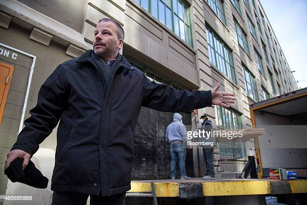 Andrew Kimball chief executive officer of Industry City gives a tour of the complex in the Sunset Park section of the Brooklyn borough of New York US...