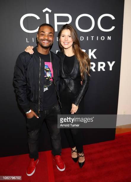 Andrew ìKing Bachî Bachelor Co Founder Zeus Network and Amanda Cerny Co Founder Zeus Network attend the ZEUS New Series Premiere Party X CIROC Black...
