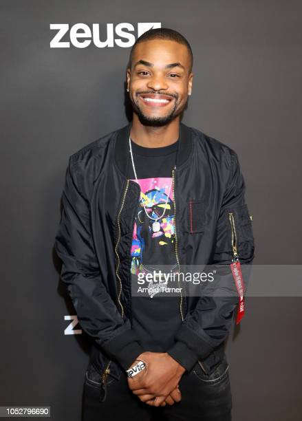 Andrew 'King Bachî Bachelor CoFounder Zeus Network attends the ZEUS New Series Premiere Party X CIROC Black Raspberry on October 19 2018 in Burbank...