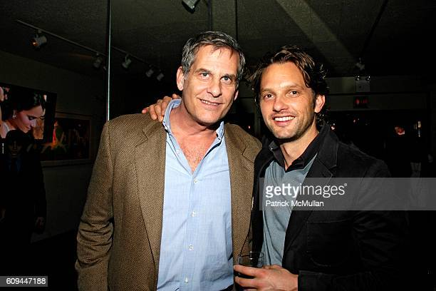 Andrew Klink and Brian Robinson attend Susan Blond Inc 20th Anniversary Party at Michael's on March 1 2007 in New York City