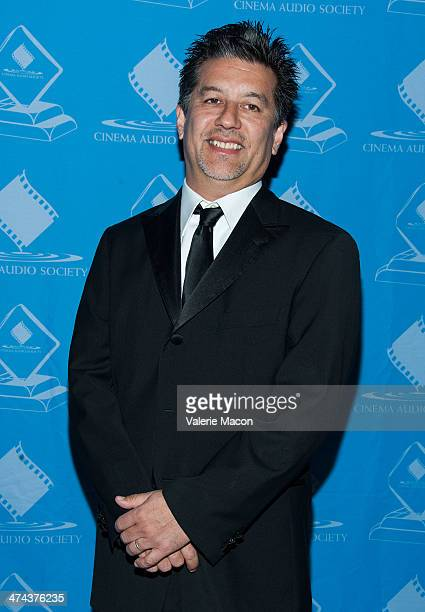 Andrew Koyama attends the 50th Annual CAS Awards From The Cinema Audio Society at Millennium Biltmore Hotel on February 22 2014 in Los Angeles...