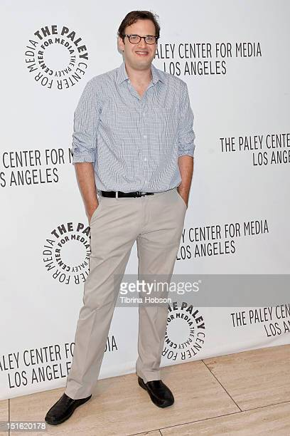 Andrew Kreisberg attends the 2012 PaleyFest fall TV preview party for the CW at The Paley Center for Media on September 8 2012 in Beverly Hills...