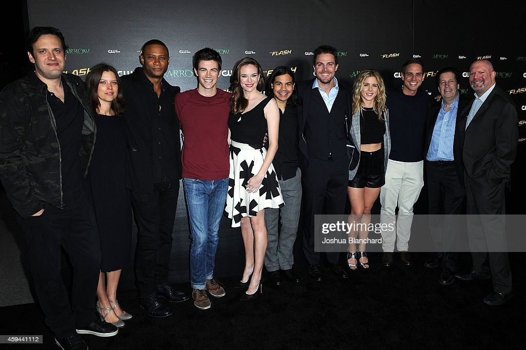 "Special Screening For The CW's ""Arrow"" And ""The Flash"" : News Photo"