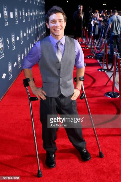 Andrew Kurka attends the 2017 Team USA Awards on November 29 2017 in Westwood California