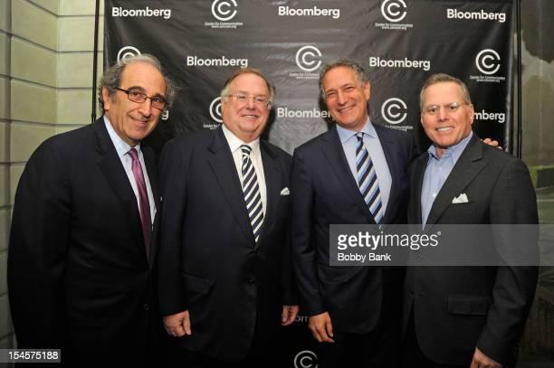 Andrew Lack,Daniel L. Doctoroff, President CEO of Bloomberg LP, David Barrett, Chairman, Center for Communication and David Zaslav CEO Discovery...