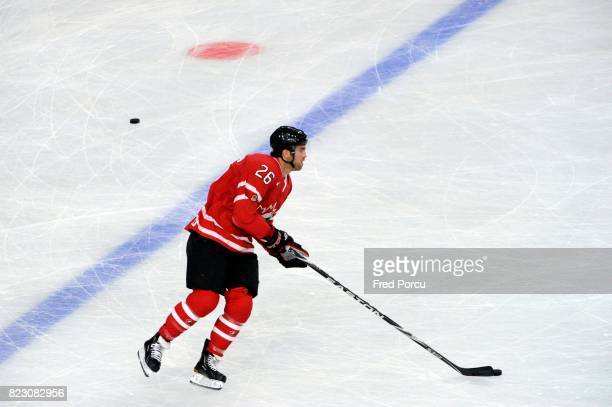 Andrew LADD Hockey sur Glace France / Canada Match amical Palais Omnisport Paris Bercy