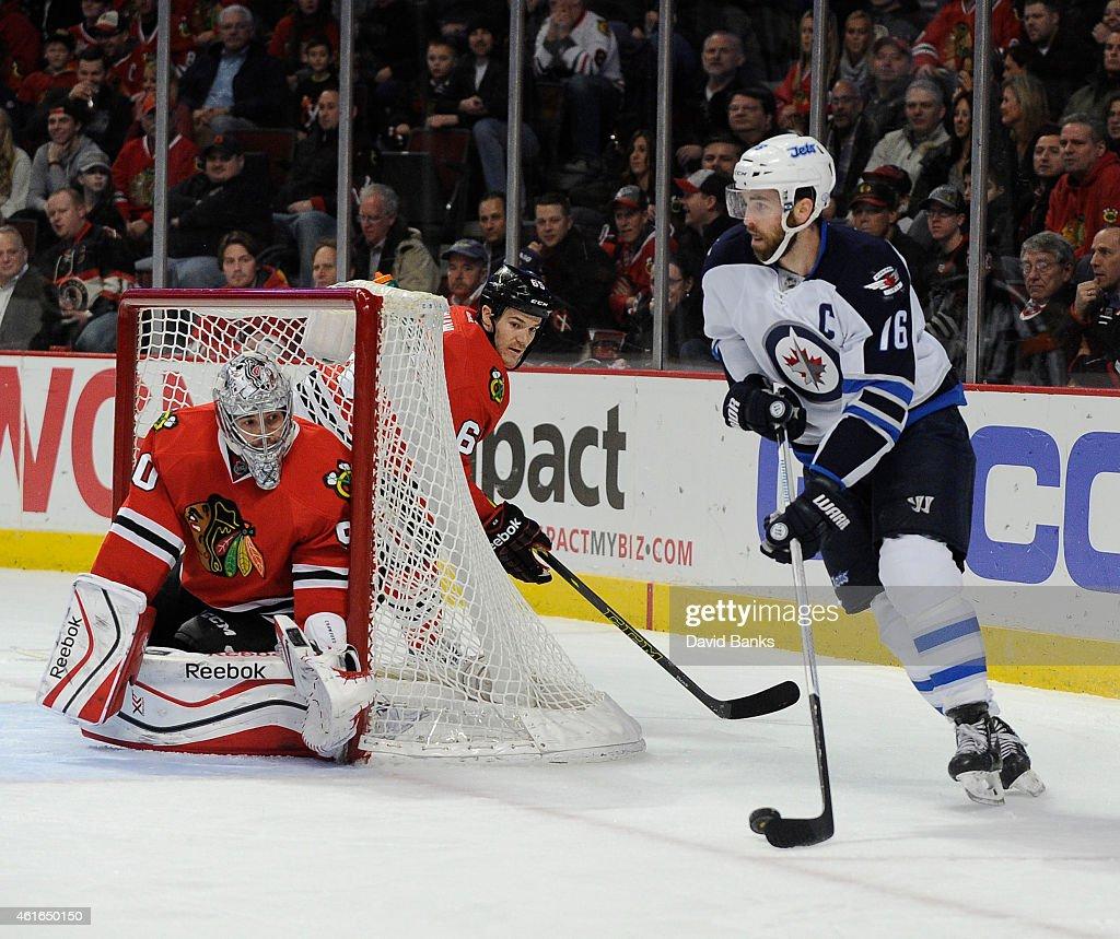 Winnipeg Jets v Chicago Blackhawks : News Photo