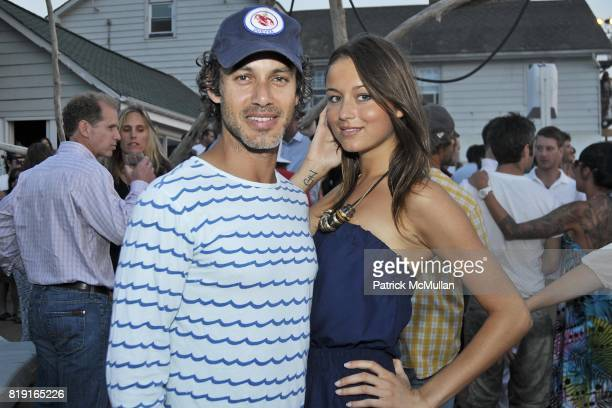 Andrew Lauren and attend Celebrating Dylan Lauren as new contributing editor to Self Magazine on July 17 2010 in Montauk NY