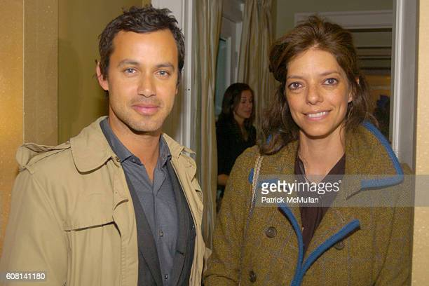 Andrew Lauren and Carolina Irving attend MICHAEL S SMITH AGRARIA COLLECTION LAUNCH at Lowell Hotel on April 18 2007