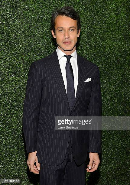Andrew Lauren arrives as Ralph Lauren Presents Exclusive Screening Of Hitchcock's To Catch A Thief Celebrating The Princess Grace Foundation at MoMA...