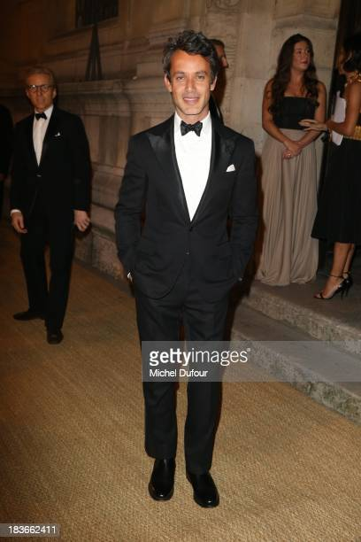 Andrew Lauren arrives at a Ralph Lauren Collection Show and private dinner at Les Beaux-Arts de Paris on October 9, 2013 in Paris, France. On this...