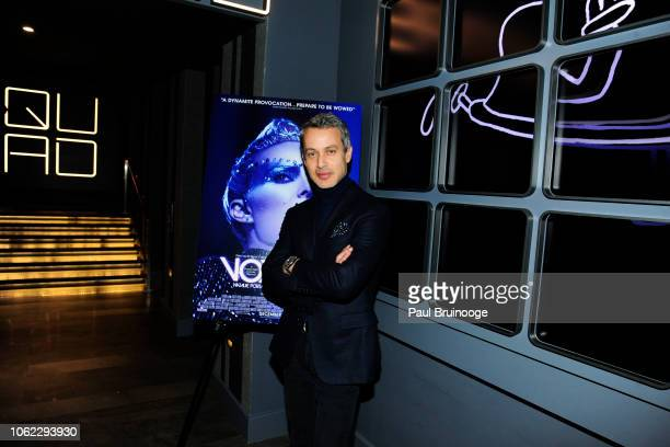 Andrew Lauren attends Neon And The Cinema Society Host A Special Screening Of Vox Lux' at Quad Cinema on November 15 2018 in New York City